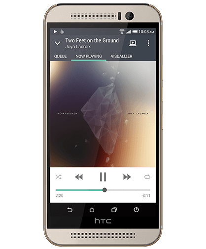 HTC One M9 BoomSound with Dolby Audio™ Surround Sound