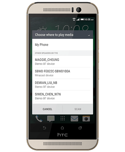 HTC One M9 HTC Connect