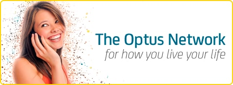 The Optus Network - For how you live your life