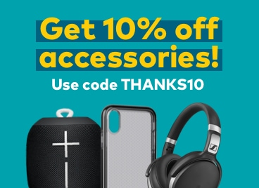 get 20% off accessories. use code thanks20.