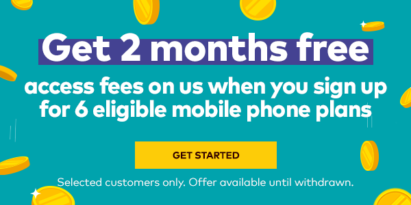 Optus Business Builder - Get 2 months free - access fees on us when you sign up for 6 eligible mobile phone plans. Selected customers only. Offer available until withdrawn.