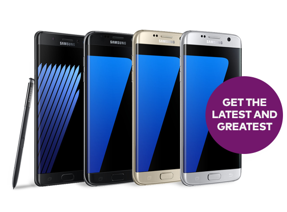 Upgrade to a Samsung Galaxy S6 on Optus My Plan Plus