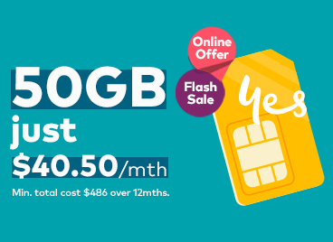 50GB for $40.50 online offer