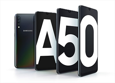 The new Galaxy A50 – Only at Optus