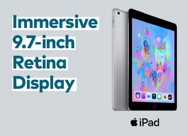 Immersive 9.7-inch Retina Display