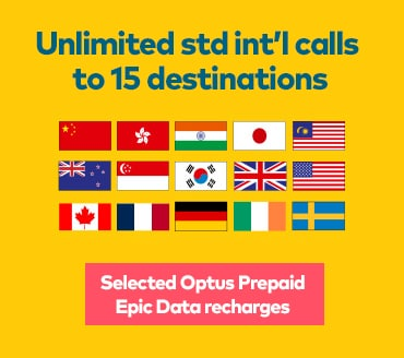 Unlimited Standard International Calls