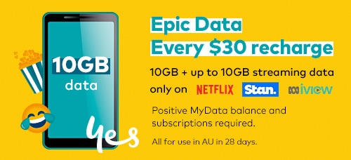 Epic Data Every $30 recharge