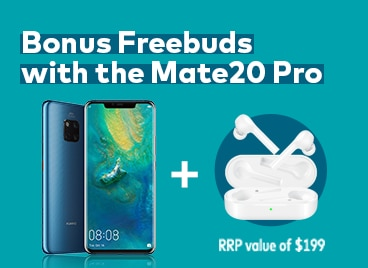 Huawei Mate20 Pro with bonus Freebuds