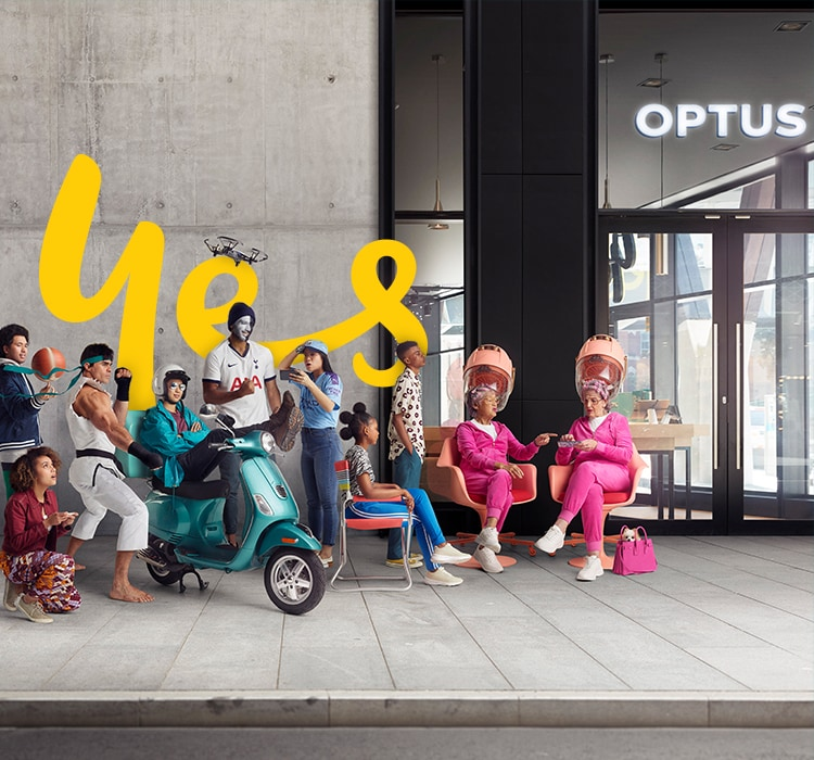 Upgrade with optus. Trade-in selected phones.