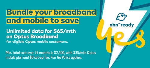 Bundle broadband and mobile and save